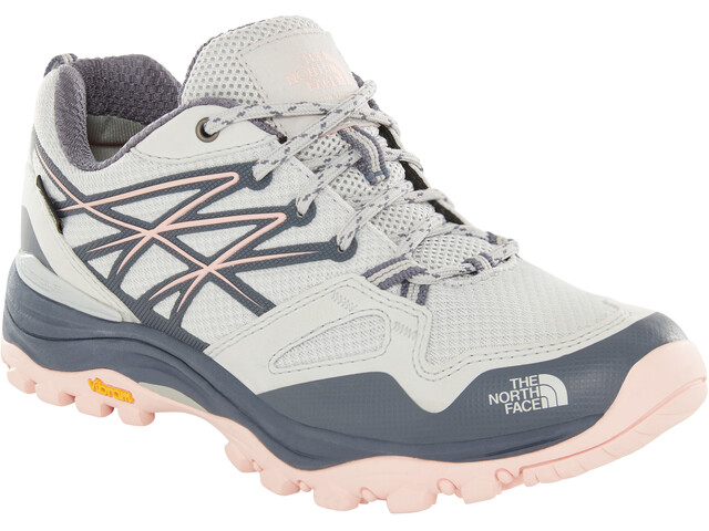 The North Face Hedgehog Fastpack GTX Shoes Women meld grey/pink salt